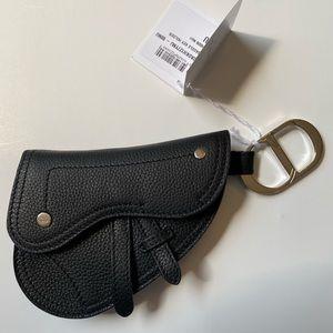 NWT Dior Saddle Key Holder